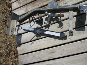 Trailer Hitch with Sway Bar