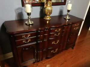 Dining Hutch and Buffet Server