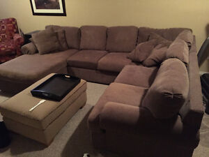 Large sectional, Canadian Made looks brand new