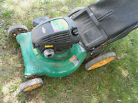 "5.5 Weedeater GAS LAWNMOWER with BAG 21"" Blade"
