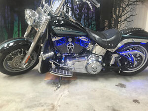 2010 Fat Boy for sale lots of extras $13,500