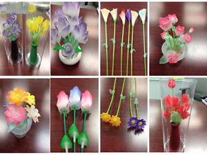 ASSORTED ACRYLIC DRY FLOWERS FOR GIFT, DOLLAR & DISCOUNT STORES