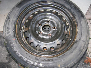 **** Rims and Uniroyal Tiger Paw tires *** Kitchener / Waterloo Kitchener Area image 1