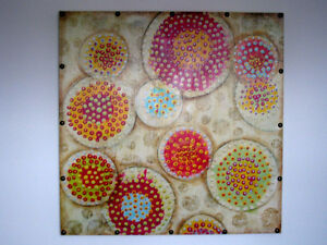 Toile colore pour decoration - Colorful Art