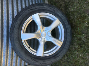 Winter rims and tires