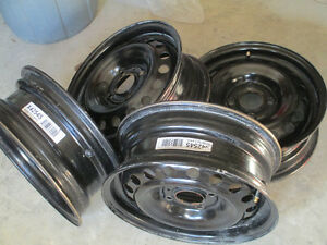 Almost new 15 in.Rims/Nissan Versa and others. Kingston Kingston Area image 1