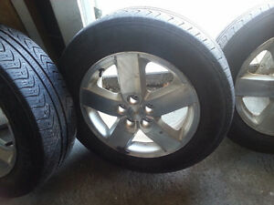 195 65 15 rims/ tires brake pads & spark plugs.cavalier/sunfire