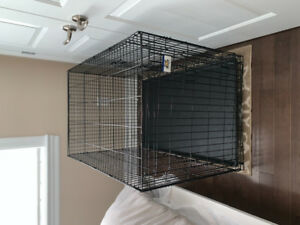 XL collapsible dog crate ( W28, L 42.5,  H30 )