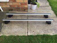 BMW X1 Atera signo aluminium roof bars