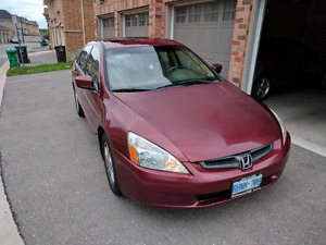 2006 Honda Accord LX with low kms!