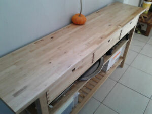 Kitchen stand with drawers