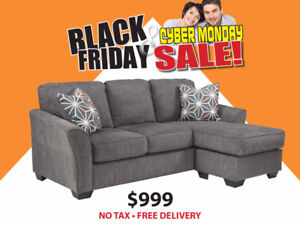 BLACK FRIDAY SALE - ELTON SECTIONAL $999 NO TAX FREE DELIVERY