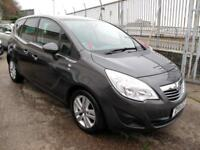 2011 11 Vauxhall Meriva 1.4 16v ( a/c ) SE ( New Shape) 47K 5 Stamps Pan Roof