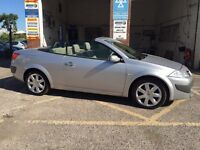 Renault Megane convertible, 2007, only 55000 miles, great condition, £2795