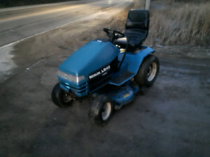 LS45 New Holland tractor with free snowblower
