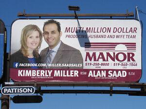 MULTI-MILLION DOLLAR PRODUCING HUSBAND AND WIFE TEAM