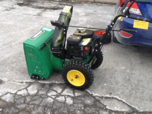 certified stage 2 gas snow blower,never used yet