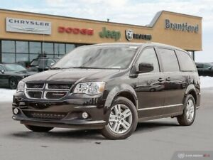 2019 Dodge Grand Caravan Crew Plus  - Leather Seats - $257.35 B/