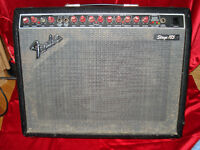 Fender Stage 185 solid state amp.....works great