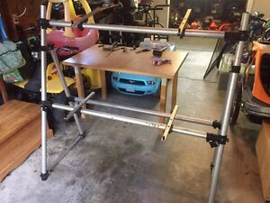 2 Tier Keyboard Stand (old school aluminum)