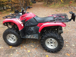 Yamaha Grizzly Low Hours & Kilometers