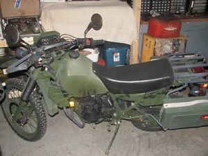 Canadian Military Kawasaki KLR 250
