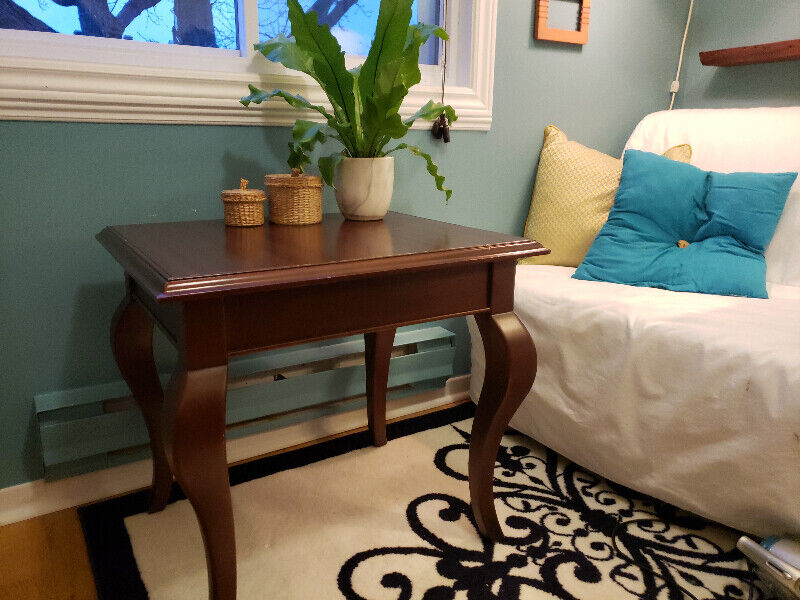 wooden living room tables 2 for sale separately or