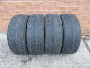 4 Continental Extreme Contact 205/55R16