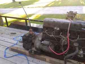 1950 chev truck motor and tranny Stratford Kitchener Area image 3