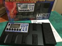 Boss ME 33 multi effects pedal