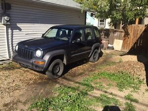 For Sale: 2002 Jeep Liberty sport 4x4