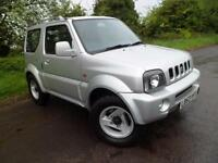 SUZUKI JIMNY 1.3 JLX MODE 3DR MANUAL 4X4 ONLY 77K MILES, Silver, Manual, Petrol,