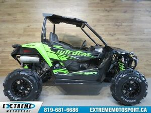 2017 Arctic Cat Wildcat Sport 700 XT EPS EDITION QUADPRO