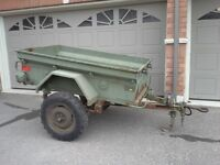 M101 Canadian Military Cargo Trailer w/Pintle