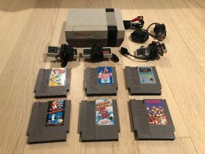 NES Nintendo System & Games: Mario, Mario 2, Yoshi, Dr. Mario