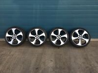 Volkswagen Polo (5x100 Fitting) Alloy wheels