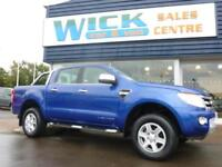 2014 Ford RANGER LIMITED 4X4 DCB 2.2 TDCI PICKUP Manual Pick-Up