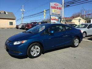 2013 Honda Civic LX 2dr Coupe 5A