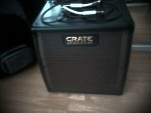 Acoustic Amp W/Reverb etc /Crate Cimmeron 15 -great sound