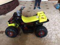 Battery powered quad