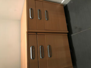 2 IKEA file cabinets -  on wheels - $100 for both or $50 each
