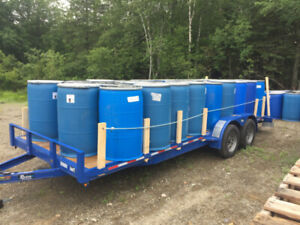 55 gallon storage drums, used - 300 available