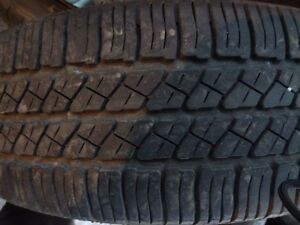 4 CONTINENTAL CONTACT TOURING AS 195 60 15 SAME SIZE 185 65 15