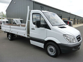 2012 Mercedes-Benz Sprinter 313 CDi LWB Dropside, FULL MERC HISTORY, VERY TIDY