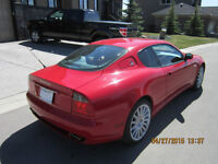 2002 Maserati cambiocorsa only 38000kms Canadian car ferrari red
