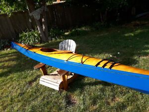 Kayak, 16' Chesepeake light craft, wood and epoxy