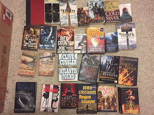 Various works of fiction and non fiction. $5-10 each