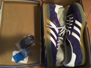 Adidas Originals Gazelle indoors purple suede. Men's 11.5 new