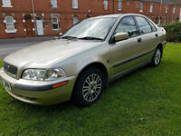 Volvo S40 1.6 1588cc 2002 S PX Swap anything considered