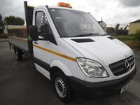 2012 MERCEDES SPRINTER 2.1 CDI 313 LWB 14 FT INGIMEX ALLOY DROPSIDE WITH TAIL LI